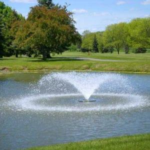 Flytande fontän 28000 Luftare för större dammar