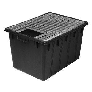 Stålgaller till JP container kvadratisk