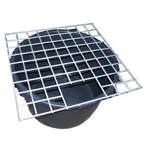 Stålgaller kvadratiskt till JP container 1000 liter