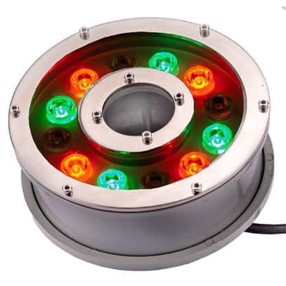 Färgskiftande LED ring Pro 12 dioders.