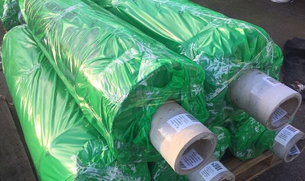 För att vara säker på att du får rätt duk. Se efter den gröna emballaget.