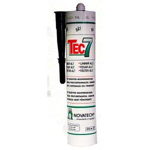 Tech 7 lim, svart 310 ml