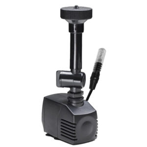 Mikropump 350L, 12 V / med lampa och två munstycken