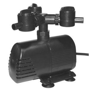 Vattenstenspump AQ 2000 ink slang, tätningskopplingar och trevägsventil. 230 V
