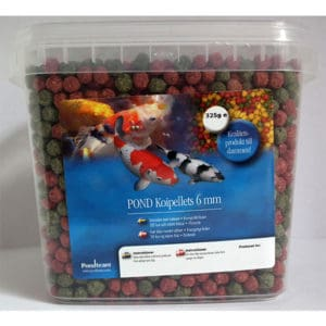 Koipellets 325g / 1,1 liter 6 mm pellets