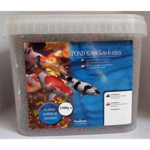 Koipellets 3300g / 10 liter 6 mm pellets