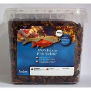 Silkeslarver för fisk 300g / 1,1 liter