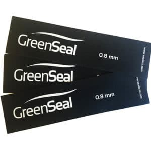 Green Seal EPDM Gummiduk 0,8 mm, 1,7 m.