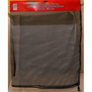 Nätpåse filtermaterial 30x45cm svart