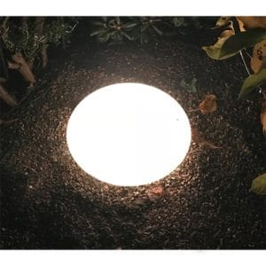 Ljussten oval 43 cm