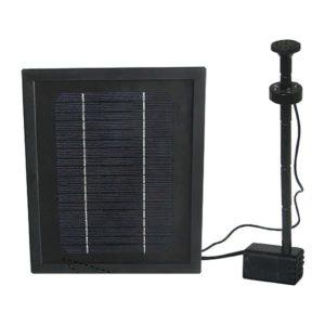 Solcellspump 250 l/h, med LED-ring