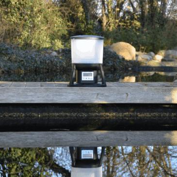 Pondlink foderautomat batteri